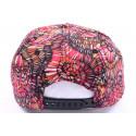 Casquette Snapback JBB couture Rouge et imprimée