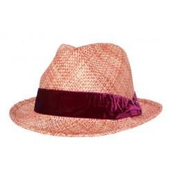 Nyls création chapeau de paille Berwick naturel