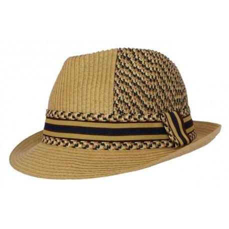 Nyls création chapeau de paille Storme naturel