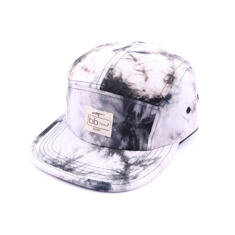 Casquette 5 panel JBB couture Grise