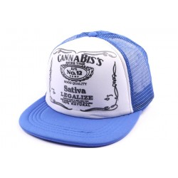 Snapback JBB Couture version trucker bleu