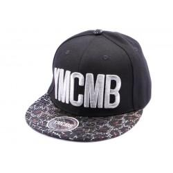 Snapback YMCMB Noir et Argent