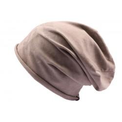 Bonnet Oversize JBB Couture Sorry I'm Fresh Marron