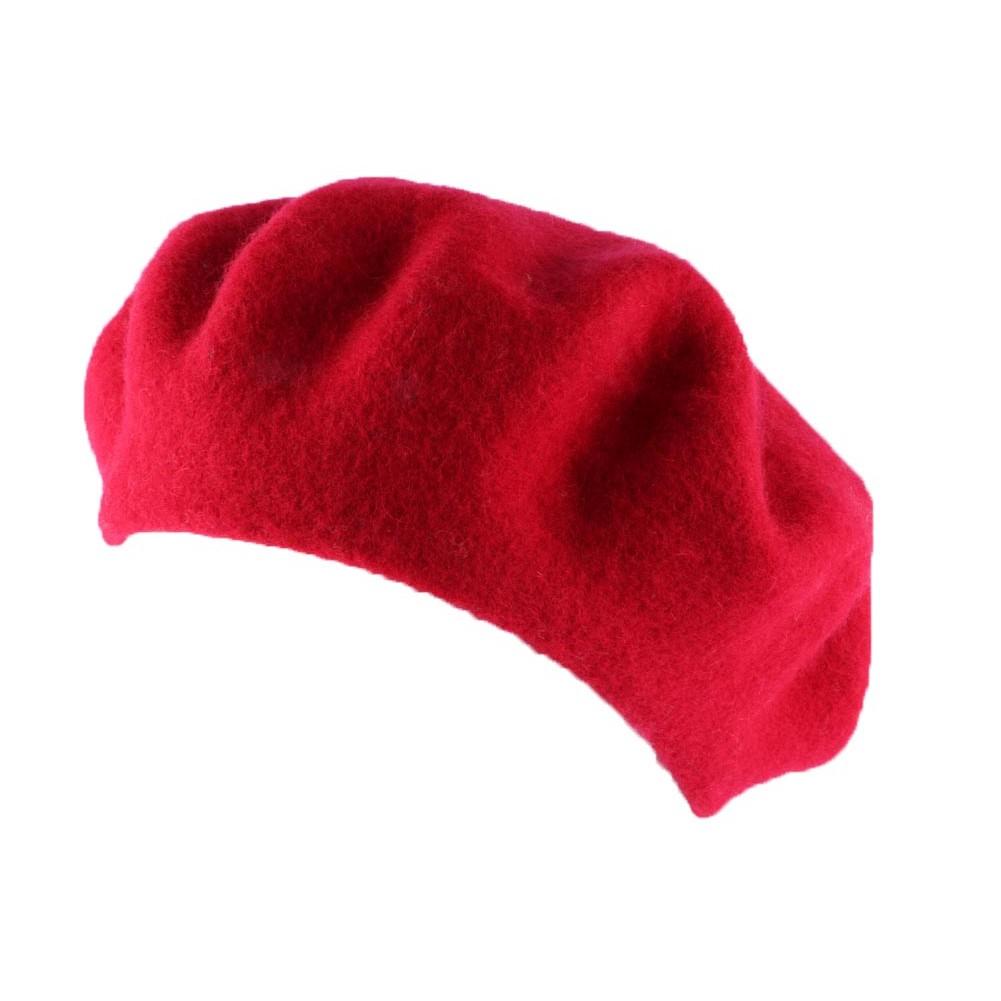 achat b ret femme rouge boutique en ligne hatshowroom. Black Bedroom Furniture Sets. Home Design Ideas