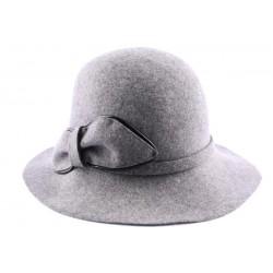 Chapeau Feutre Netuk gris perle