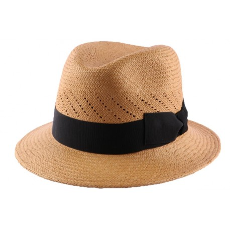 Chapeau panama Royal Troon Tabac