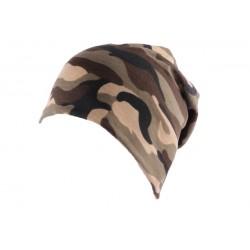 Bonnet Biker Oversize Camouflage