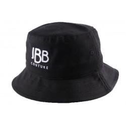 Bob JBB Couture Noir avec griffe blanche