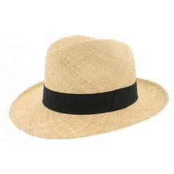 Chapeau de paille Clapton noir