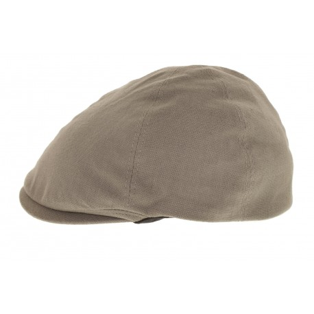 Casquette Classic lin Taupe