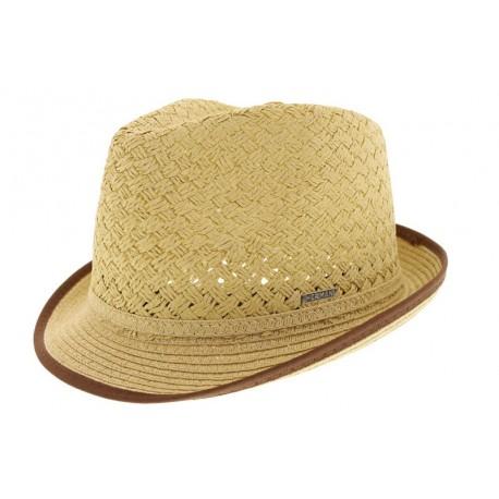 Chapeau de paille Gil beige