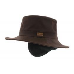 Chapeau pluie Rain Eurico Marron Herman Headwear