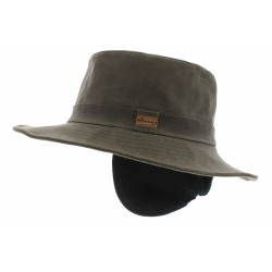 Chapeau pluie Rain Eurico Taupe Herman Headwear