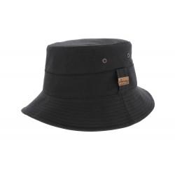 Chapeau Pluie Rain Tamaho Noir Herman Headwear