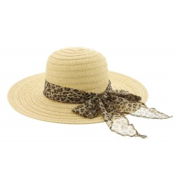 Chapeau paille Clara Naturel Herman Headwear
