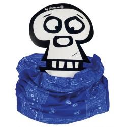 Tube Imprimé Bandana Bleu