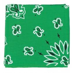 Carré Imprimé Bandana Vert