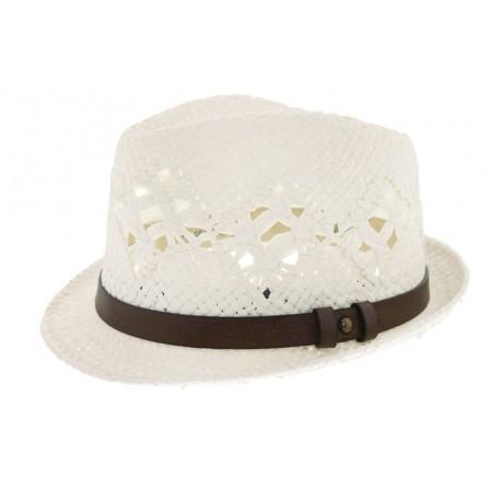 Chapeau de paille James Ecru