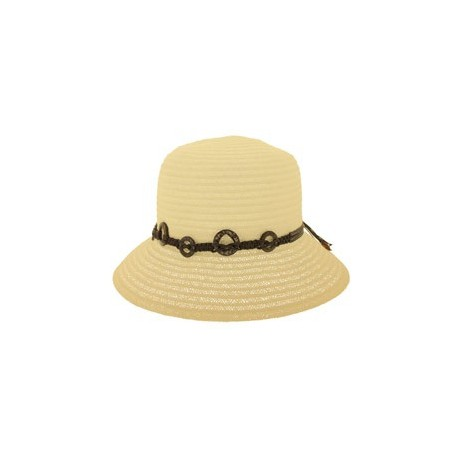 Chapeau de paille Sylvy beige