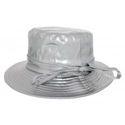 Chapeau imperméable Rain Ema Argent