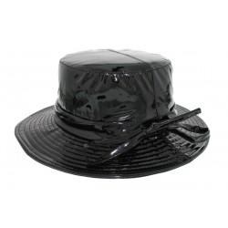 Chapeau imperméable Rain Ema Noir