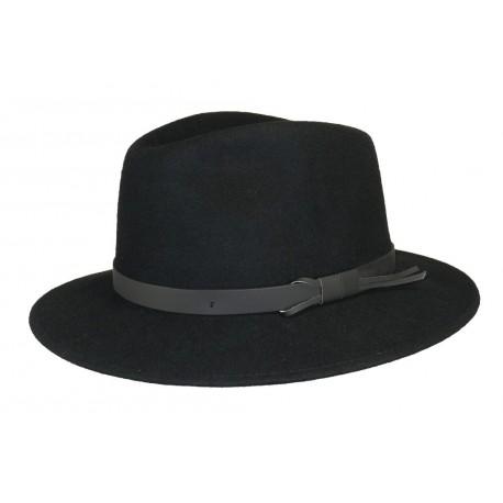 Chapeau feutre Lord noir