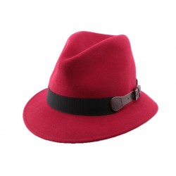 Chapeau Feutre London en coloris Rouge
