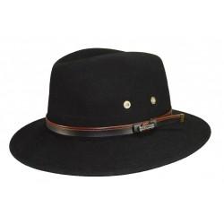 Chapeau de feutre Maccarthy Noir