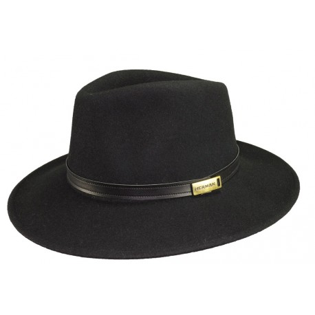 Chapeau de feutre Macewen Noir