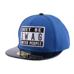 Snapback JBB Couture Must Swag Bleu