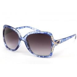 Lunettes Soleil Lolita monture marbrée Bleu