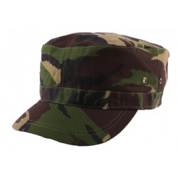 Casquette Army Camouflage Vert Marron