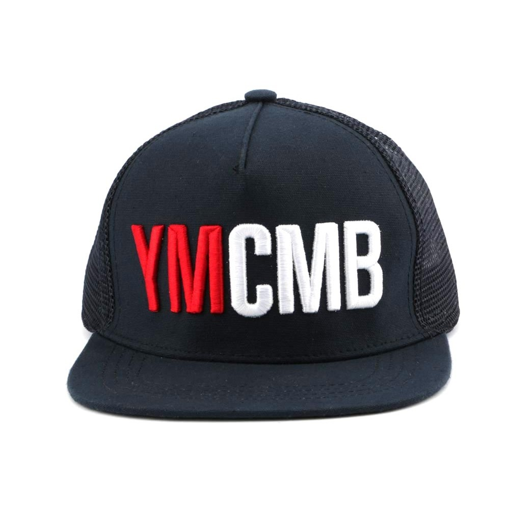 meilleur site web 965e1 1d014 Trucker YMCMB Marine - Chapellerie - Hatshowroom