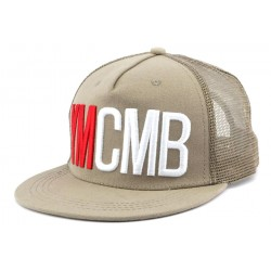 Casquette Trucker YMCMB Marron Sable