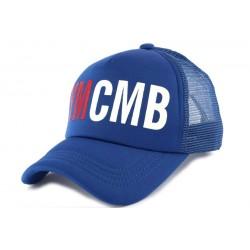 Casquette Trucker YMCMB Bleu CASQUETTES YMCMB