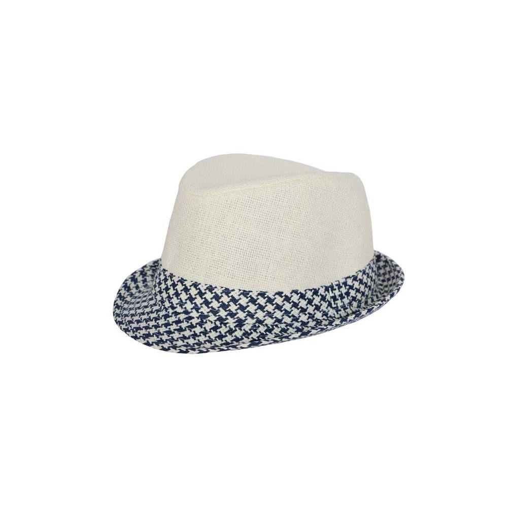 chapeau bleu forme trilby chapellerie hatshowroom. Black Bedroom Furniture Sets. Home Design Ideas