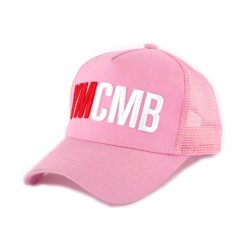 Casquette Trucker YMCMB Rose