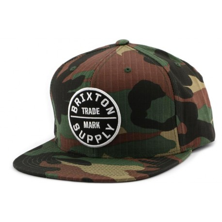 Casquette Brixton Snapback OATH III Camo ANCIENNES COLLECTIONS divers