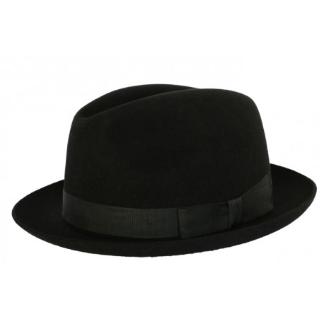 Chapeau Sportsman narrow noir