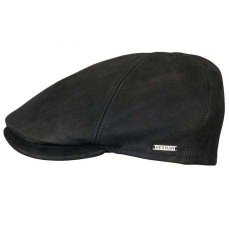 Casquette Herman Headwear Bec de Cane Noir ANCIENNES COLLECTIONS divers