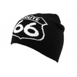 Bonnet Biker Route 66 Noir BONNETS divers