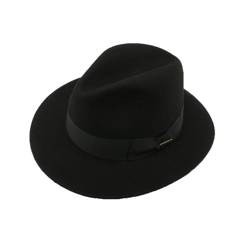 4944cbad84d59 ... Chapeau Indiana Jones Mayser Feutre Noir ANCIENNES COLLECTIONS divers  ...