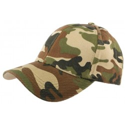 Casquette Baseball Army Camouflage CASQUETTES Nyls Création