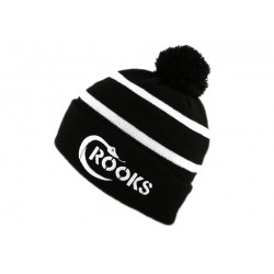 Bonnet Crooks and Castles Gun Logo Noir BONNETS CROOKS & CASTLES