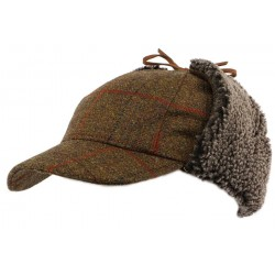 Casquette Baseball Tweed Watson par Christys' London
