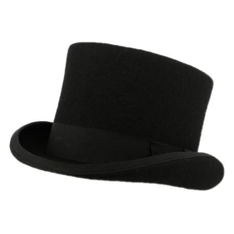 Chapeau Haut de Forme Christys' London Noir