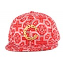 Strapback Crooks and Castles Thuxury Venetian Rouge