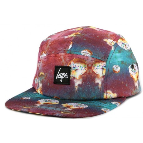 Casquette 5 panel Hype Space Doughnuts Fuschia ANCIENNES COLLECTIONS divers