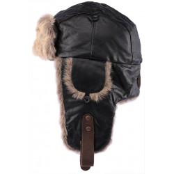 Chapka Marron Aviator Aussie Apparel Chapka Aussie Apparel