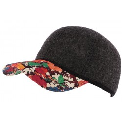 Casquette Baseball Grise Fashion par Christys